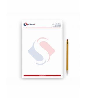 Fogli di carta intestata Formato A6 - 4 colori