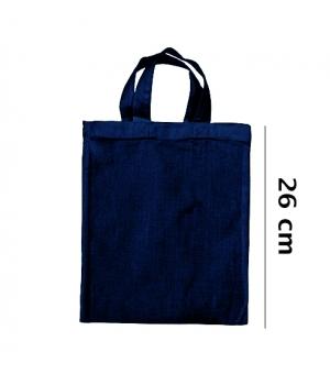 Shopper Borse  Piccole in cotone 140 gr - Manici corti - 22x26 cm