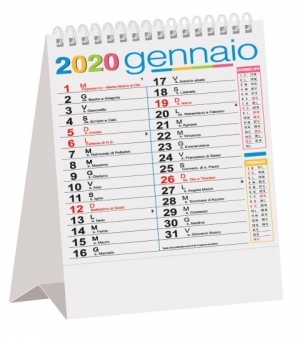 Calendari da tavolo Multicolor cm 12,5x20,5