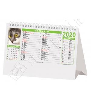 Calendari da tavolo Cani e Gatti cm 19x14,2
