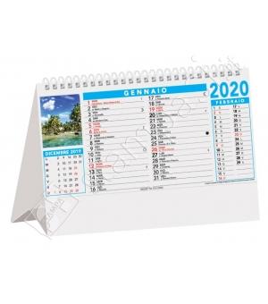 Calendari da tavolo Tropicale cm 19x14,2
