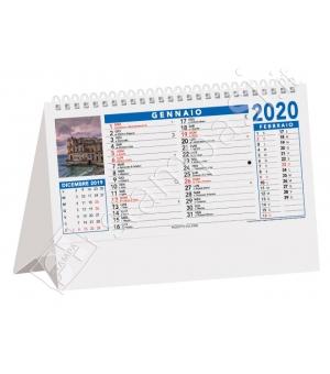 Calendari da tavolo Città d'Italia cm 19x14,2