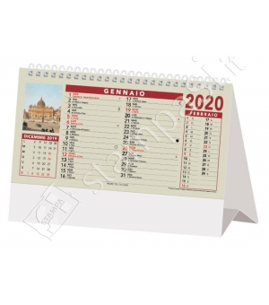Calendari da tavolo Roma Ieri cm 19x14,2