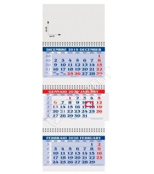 Calendari Trittici con cursore cm 31x85
