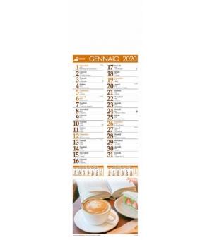 Calendari silhouette illustrati Caffè cm 14x47