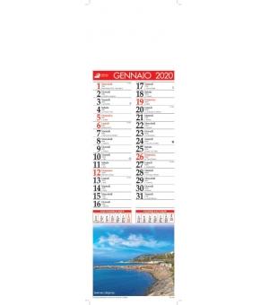 Calendari silhouette illustrati Paesaggi cm 14x47