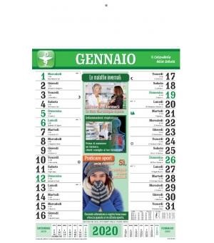 Calendari Olandesi illustrati Salute cm 28,8x47