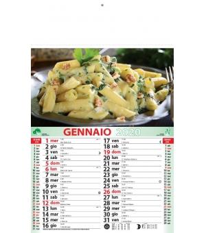 Calendari Gastronomia cm 28,8x47