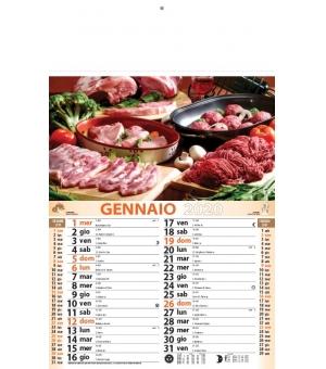 Calendari Carne cm 28,8x47