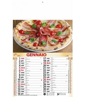 Calendari Pizza cm 28,8x47