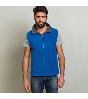 Gilet unisex in pile Suave 290 gr