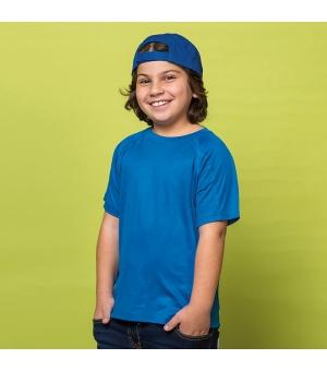 T-shirt bambino manica corta Sport Junior 140 gr