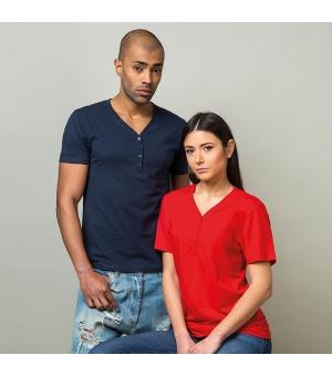 T-shirt adulto unisex scollo a V Ibiza 150 gr