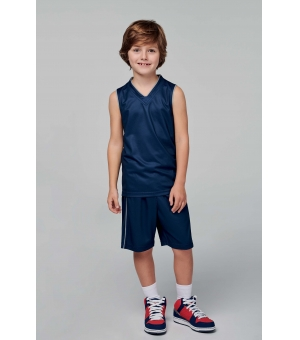 Pantaloncino basket bambino PROACT 150 gr