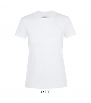 Maglietta donna manica corta Regent Women SOL'S 150 gr bianca