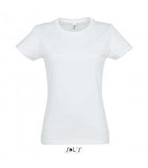 Maglietta donna manica Imperial Women SOL'S 190 gr bianca