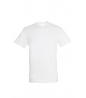 Maglietta manica corta Regent SOL'S 150 gr bianca unisex
