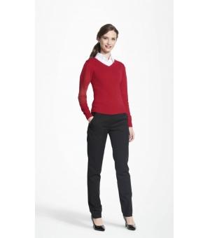 Pullover donna scollo a V Galaxy Women SOL'S