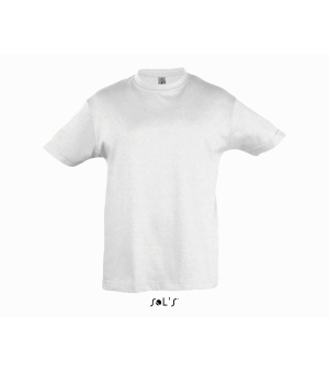 T-shirt bambino manica corta Regent Kids SOL'S 150 gr bianca