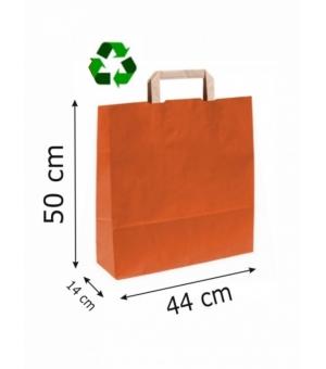 Buste Avana Riciclate carta sailing 110 gr - 44x14x50 cm - maniglia piatta