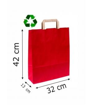 Buste Avana Riciclate carta sailing 100 gr - 32x13x42 cm - maniglia piatta