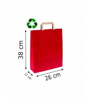 Buste Avana Riciclate carta sailing 100 gr - 26x11x38 cm - maniglia piatta