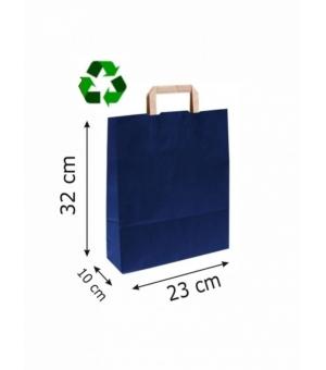 Buste Avana Riciclate carta sailing 100 gr - 23x10x32 cm - maniglia piatta