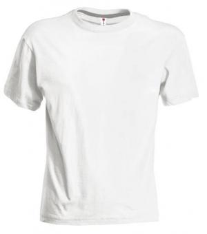 T-shirt bambino manica corta Sunset Kids PAYPER 150 gr Bianca
