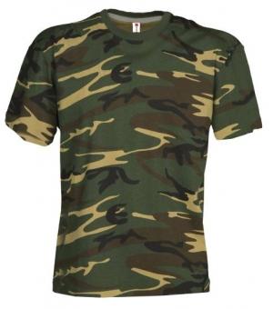 T-shirt bambino manica corta Sunset Kids PAYPER 150 gr Mimetica