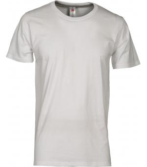 Maglietta uomo manica corta Sunset PAYPER 150 gr bianca