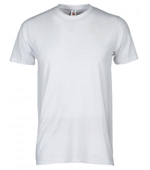 T-shirt uomo manica corta Print PAYPER 150 gr bianca