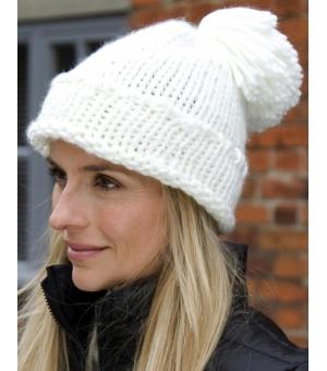 Cappellino invernale con pom pom Arbus - RESULT