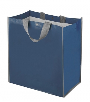 Borsa Shopper Maxi in Polipropilene con soffietto - 43x45x24 cm