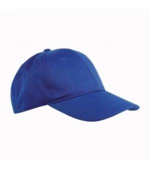 Cappellino in cotone e poliestere 6 pannelli