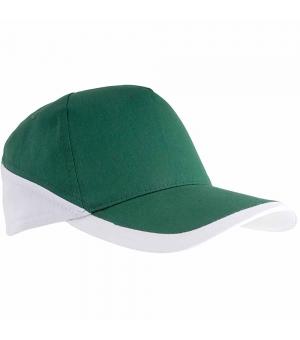 Cappellini visiera curva Diamond con bordi bianchi