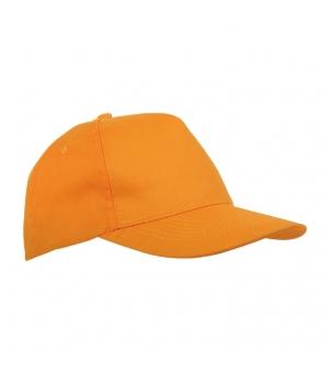 Cappellino in poliestere 5 pannelli per bambino