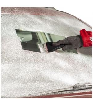 Raschia ghiaccio di sicurezza con led, rompivetro e tagliacinture