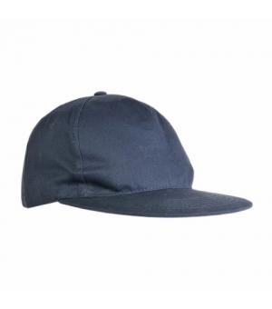 Cappellino in poliestere 5 pannelli e visiera dritta