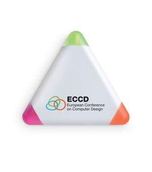 Evidenziatori Triangle 3 colori