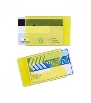 Portatessere portacards rigidi per farmacia cm 9x6