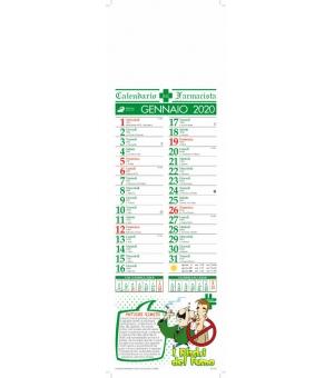 Calendari Salute Silhouette cm. 14x47