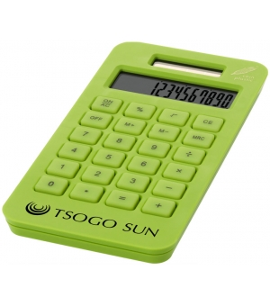 Calcolatrice tascabile solare ecologica