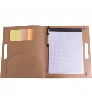Cartelletta portablocco in cartoncino cm 27,5x33,8x2