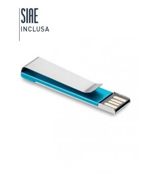 Penna USB con clip