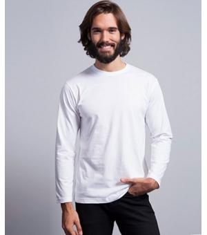 T-shirt uomo manica lunga colorata JHK 100% cotone 160 gr