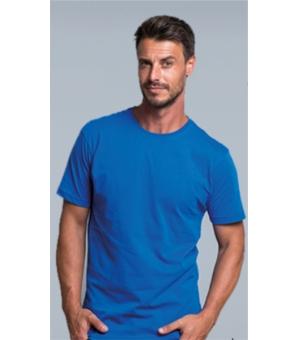 T-shirt uomo slim girocollo colorata RUSSELL 100% cotone 145 gr