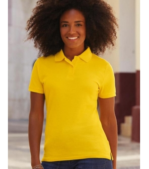 Polo donna tessuto misto 180 gr - Fruit of the Loom