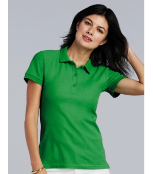 Polo donna Premium Cotton doppio piquè 223 gr - Gildan