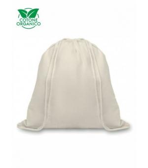 Sacca in cotone organico ecologico 105 gr - 37x41 cm