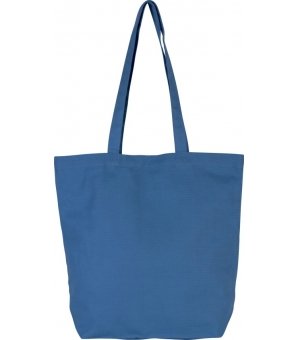 Shopper Ki-Mood in cotone bio, manici lunghi - 40x42x12 - 310 gr